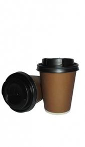 Bicchieri Caffè Tazza Black 24 cl x 40 Drink Shop