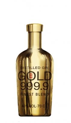 Gin Gold 999.9 0.70 lt Mulhollade Trade Intl