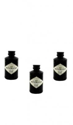 Gin Hendrick's 0.05 cl x 3 Mignon Hendrick's