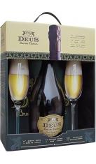 Birra Deus Conf.Regalo 1bott piu' 2 flutes Drink Shop