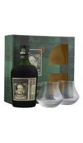 Rum Diplomatico Exclusiva 12 y Conf Regalo bott piu' 2 bicch. Drink Shop
