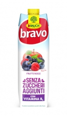 Bravo 1 lt Frutti Rossi Senza Zuccheri Rauch