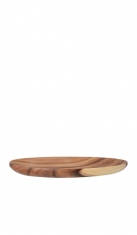 Vassoio in legno naturale ovale Drink Shop