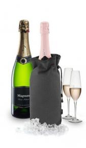 Borsa Raffredda Champagne Bianco/Nero Drink Shop