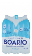 Boario 1.5lt Naturale X6 Boario