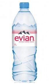 Acqua Evian 1 l -Confezione 6 pz Evian