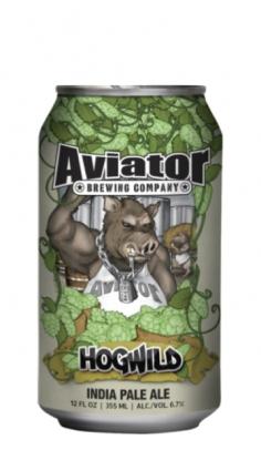 Aviator Hogwild India Pale Ale lattina 0,355 l Aviator Brewing Company